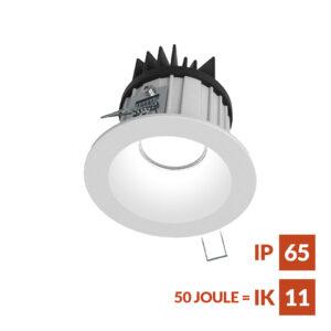 DL86 Einbaudownlight mit Federklemmen