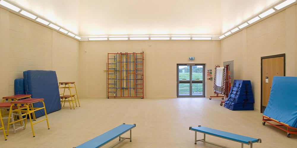 Tuscan Sporthalle JVA Nebenbereiche