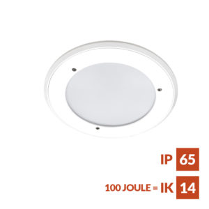 RDL AL anti-ligatur Einbau Downlight