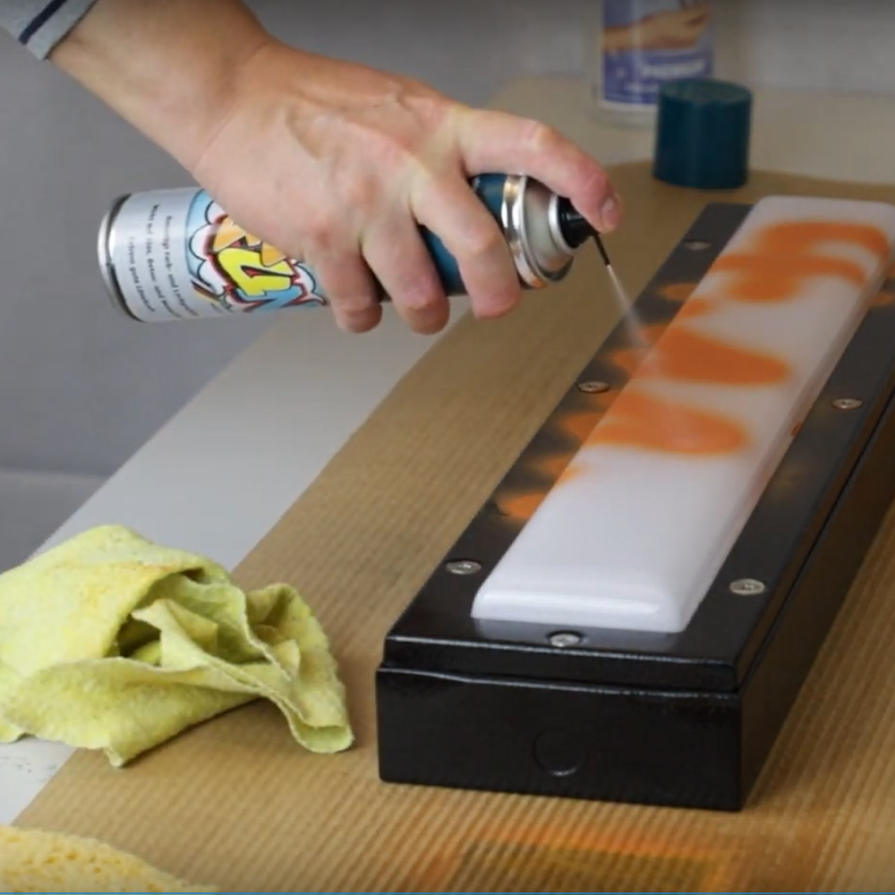 DEsignplan tutoprom anti graffiti beschichtung für leuchten