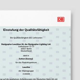 Deutsche Bahn Q1 Lieferant
